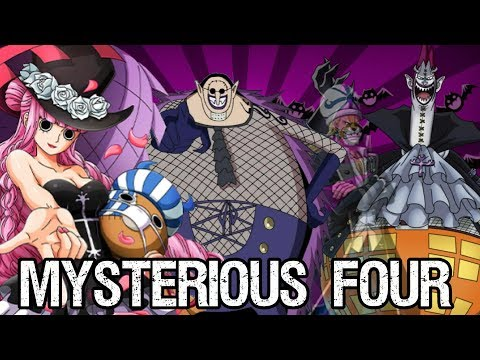 The Mysterious Four: Moria, Perona, Absalom, & Hogback - One Piece Discussion