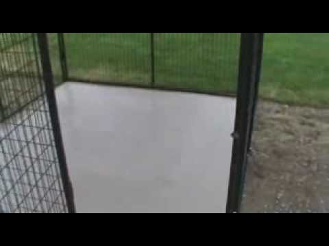 Tile Flooring For Your Dog Run From K9 Kennel Store Youtube