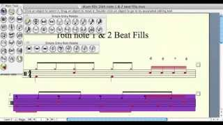 Finale Print Music 2011 How To: Hide Rests, Flip Stems, Drum Notation, Use Layers & More!
