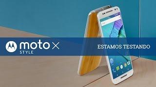 Moto X Style: estamos testando - TecMundo