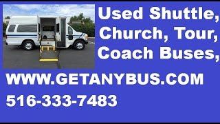 Used Wheelchair Van For Sale | 2005 Ford E350 Startrans Wheelchair Ambulette Van For Sale