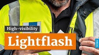 Parka de pluie d'hiver Lightflash haute visibilité SIOEN