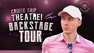 Backstage Tour of a Cruise Ship Theatre! Stephen Williams Jr