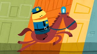 police officer songs about professions by storybots