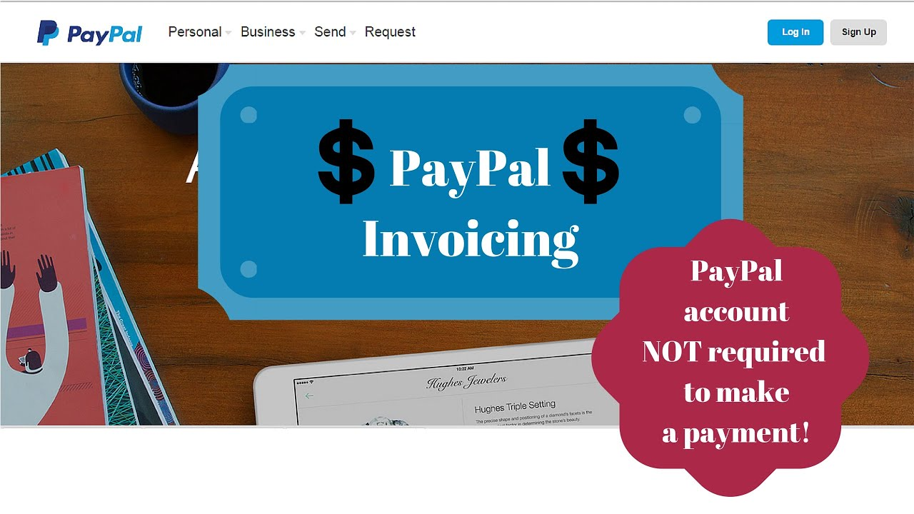 paypal invoice invoicing features tutorial walk through review