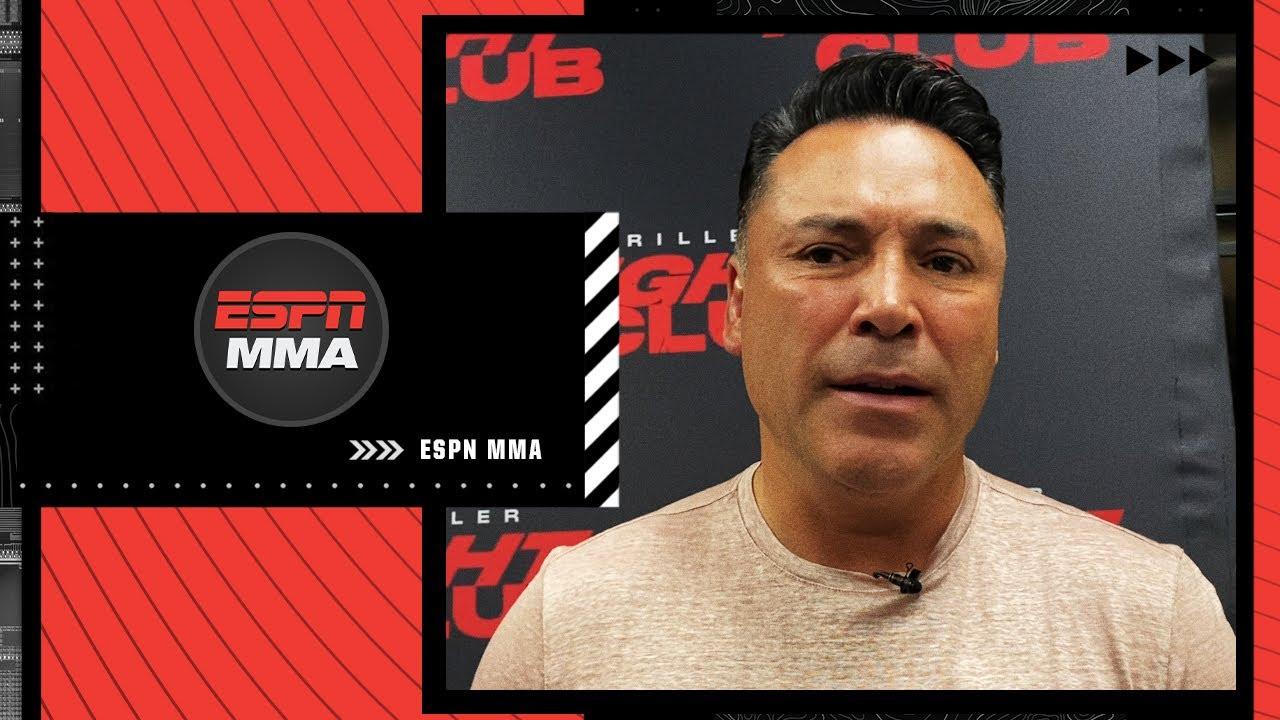 Oscar De La Hoya on comeback match and if he'll fight Floyd Mayweather & Canelo Alvarez | ESPN MMA