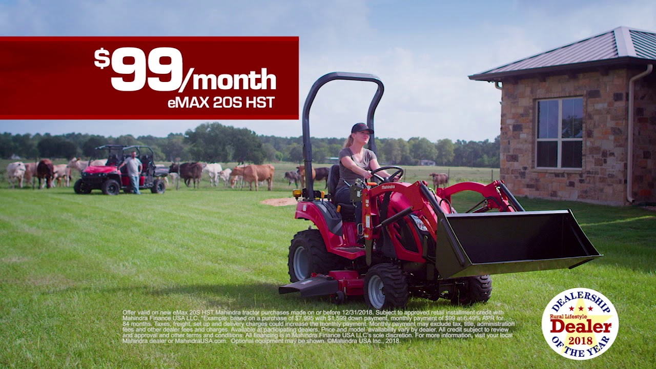 Sherwood Tractor Inc  | Arkansas' #1 Mahindra Tractor Dealer