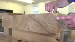 Solid Oak Table From Tarzantables.co.uk