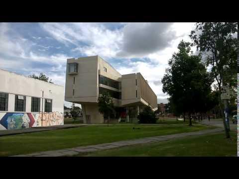 edificio de enfermeria universidad nacional arquitecto, Nursing building national university