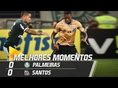 Palmeiras 0 x 0 Santos | MELHORES MOMENTOS | Paulistão (23/02/19)