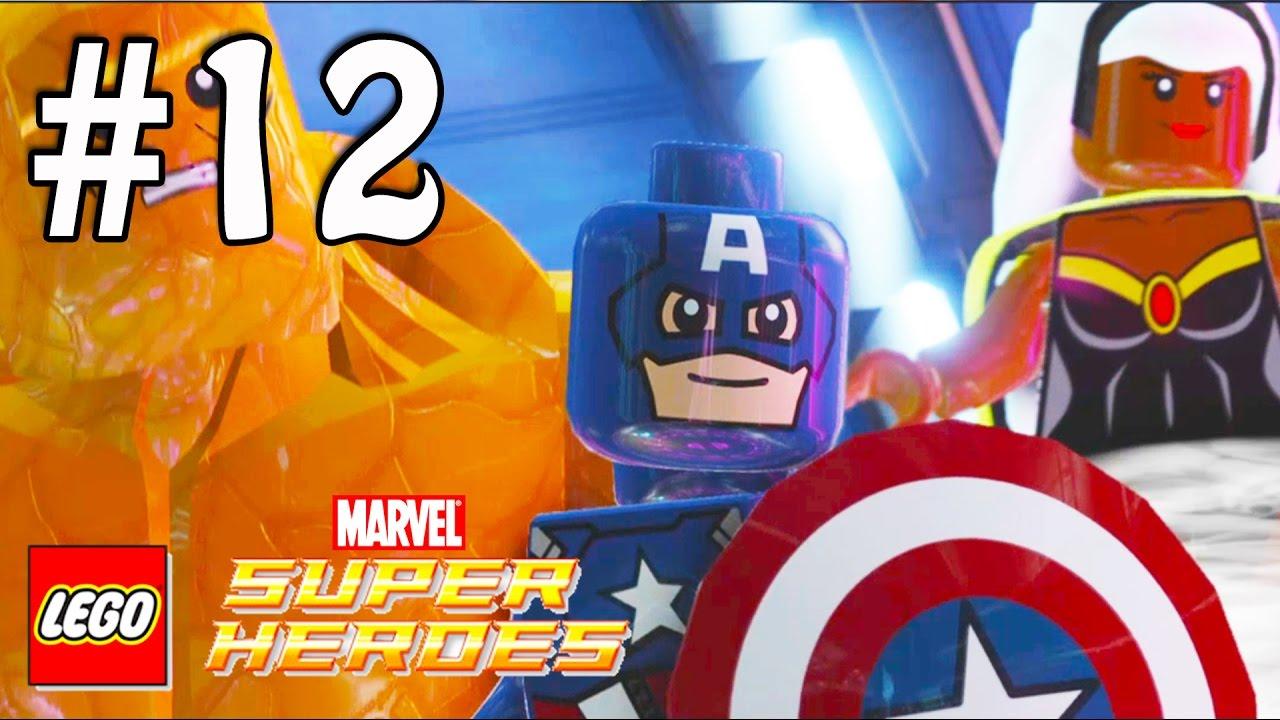 EL CAPITÁN AMÉRICA en Español - LEGO Super Héroes Marvel - Juegos de ...