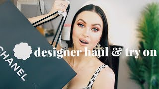 NEW IN MY WARDROBE FOR SPRING | DESIGNER HAUL & TRY ON | EMMA MILLER