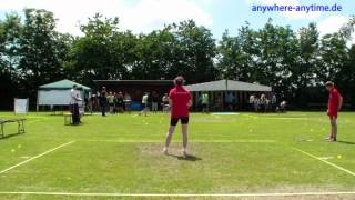 Speed Badminton Speedminton - Finale Damen Rheinland-Pfalz Open 2012