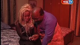 Papa Ajasco and Cossy Orjiakor in THE LIONS DEN Episode 3
