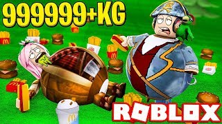 "WE ATE A LOT! - ROBLOX ""MANGIONI"""