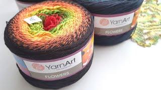 Обзор пряжи YarnArt Flowers.