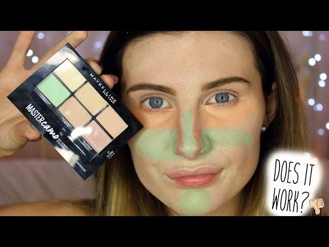 DOES IT REALLY WORK? Maybelline Master Camo Corrector Kit | cosmochlo