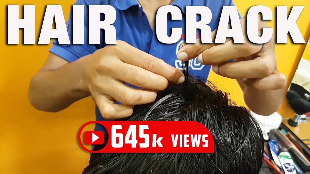ASMR Intense Head and Hair Cracking