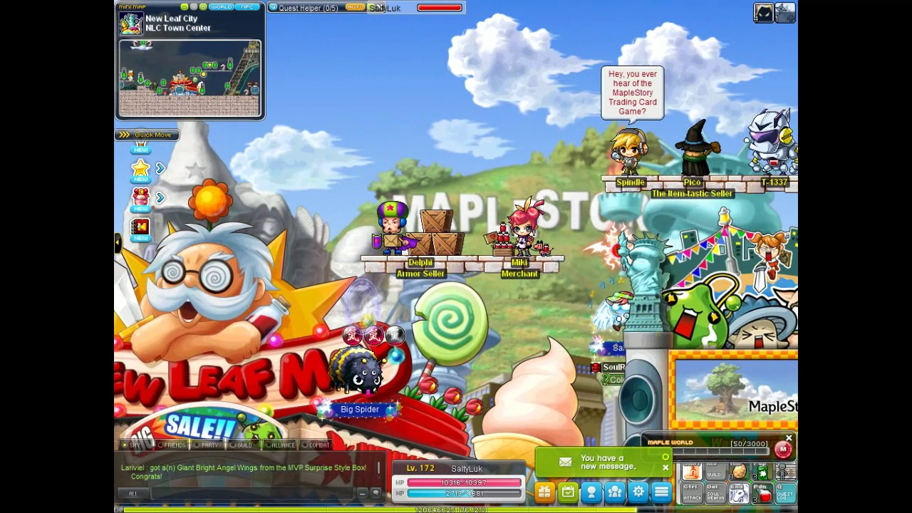 Deputy star maplestory quest prizes