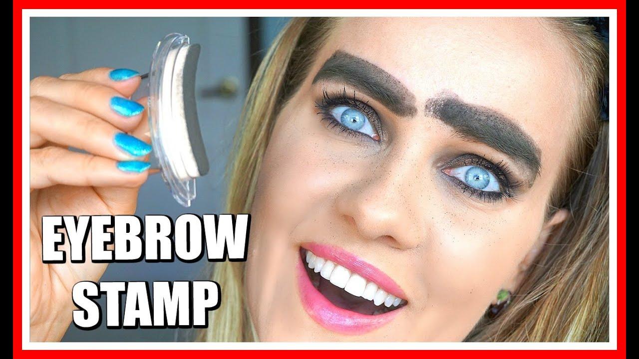 Eyebrow Stamp Youtube