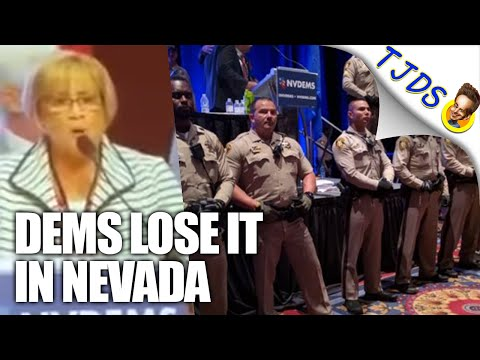 Nevada Democratic Convention Turned Chaotic Thanks To Establishment Goons