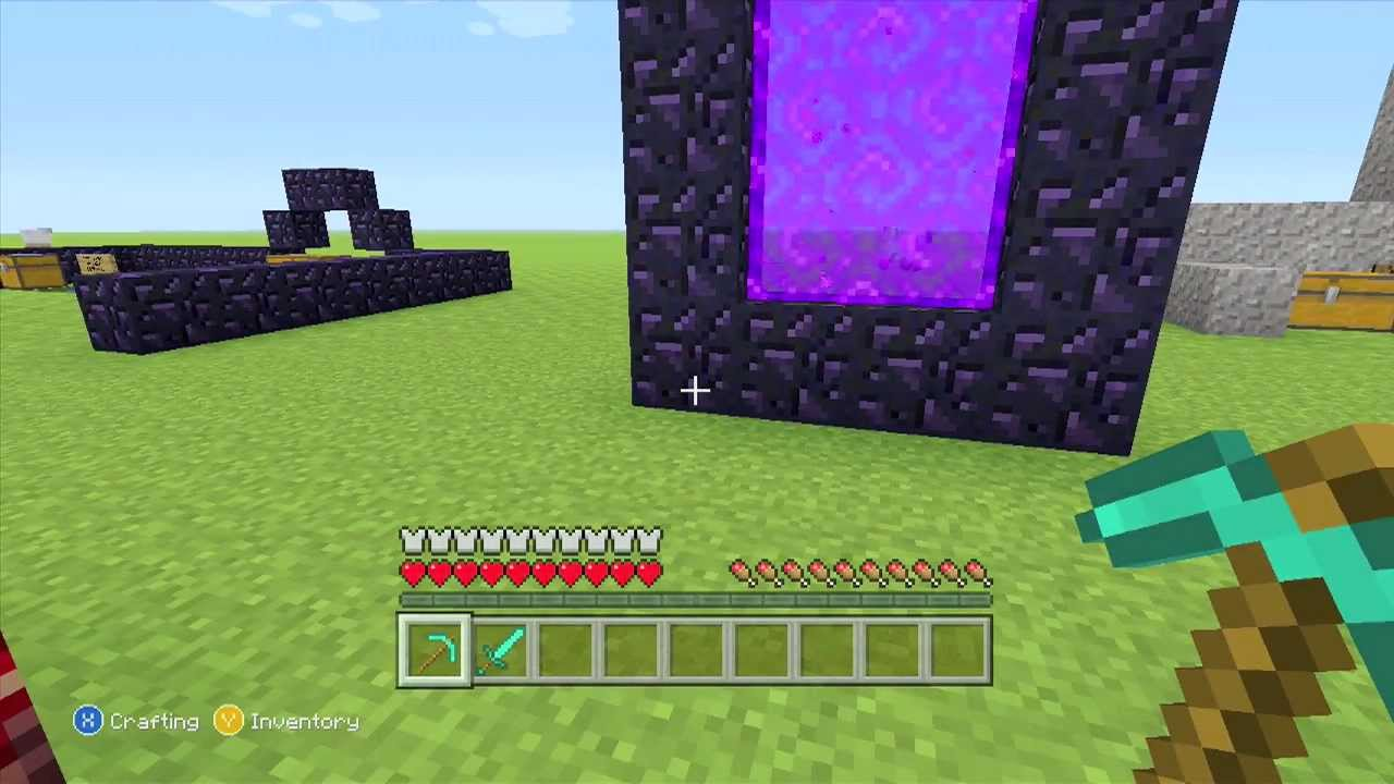 How to make a nether portal in minecraft mentary explained in