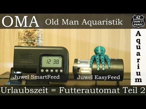 Juwel EasyFeed + SmartFeed - Urlaubszeit = Futterautomat Teil 2