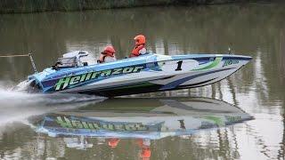 HELLRAZOR Water Ski Racing Team Tribute Movie 2009-2015 River Races