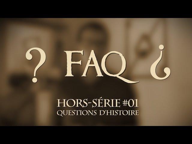 Comment se réalise un épisode de Questions d'Histoire ? [HS#01]