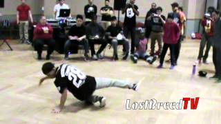 LOST BREED vs ENDO FX 1 | BBOY PRELIMS | SHAPELESS LIKE WATER