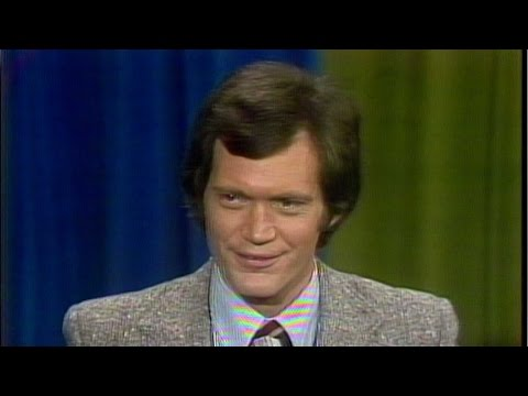 From the archives: David Letterman 1978