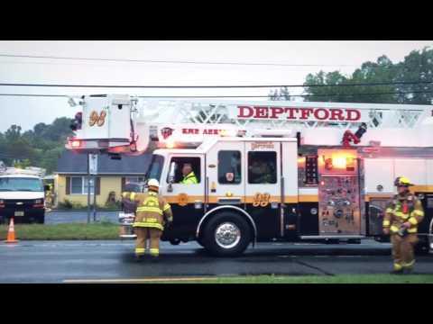 Washington Twp. NJ - Watson Turkey Warehouse 2 Alarm Building Fire - 9/30/16