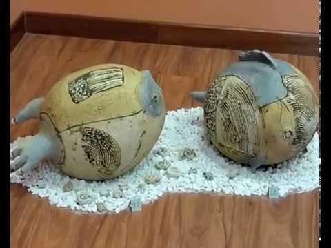 exposicion de ceramica artistica zut youtube