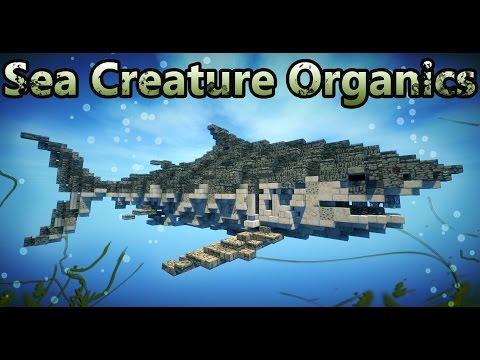 Minecraft: Organics - Sea Creatures - By Helicopterhelen
