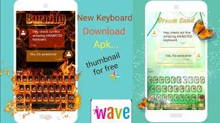 HOW TO USE Wave Keyboard for Android// NEW TRICK 2020 screenshot 1