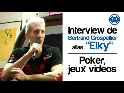 "PokerStars.Fr - Reportage - Bertrand ""Elky"" Grospellier - De Champion StarCraft à Champion de Poker"