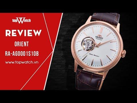[REVIEW] Orient Bambino Open-Heart 2018 RA-AG0001S10B - Topwatch.vn
