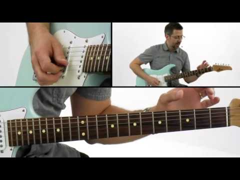 Fusion Guitar Lesson - Using a Linear Approach - Joe Pinnavaia