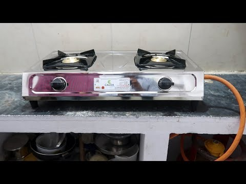 Gas Stove Un Boxing | New LPG Connection | Installation | Bharat Gas New Connection