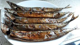 Tinapang Galunggong in one hour (recipe)