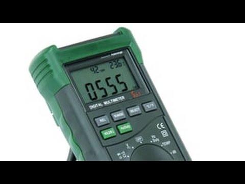 Digital Multimeter Review: Cen-Tech P98674 / Mastech MS8229