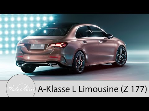 Mercedes-Benz A-Klasse L Limousine (Z177): Die Langversion der A-Klasse Limo [4K] - Autophorie