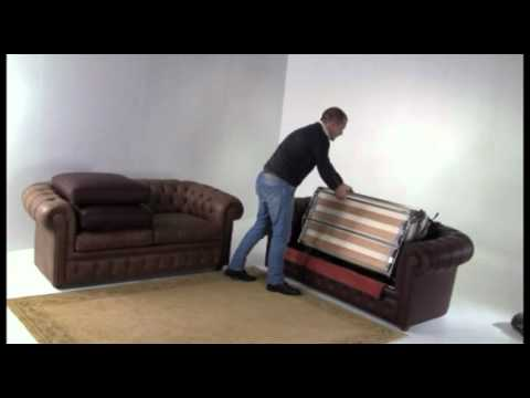 Chesterfield Classic Sofa Bed  Santambrogio Sofas