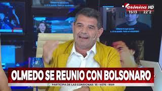 Olmedo se reunió con Bolsonaro