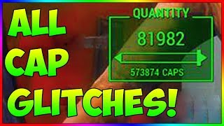 Fallout 4 - ALL Working Bottlecap Glitches Exploits In Depth Tutorial