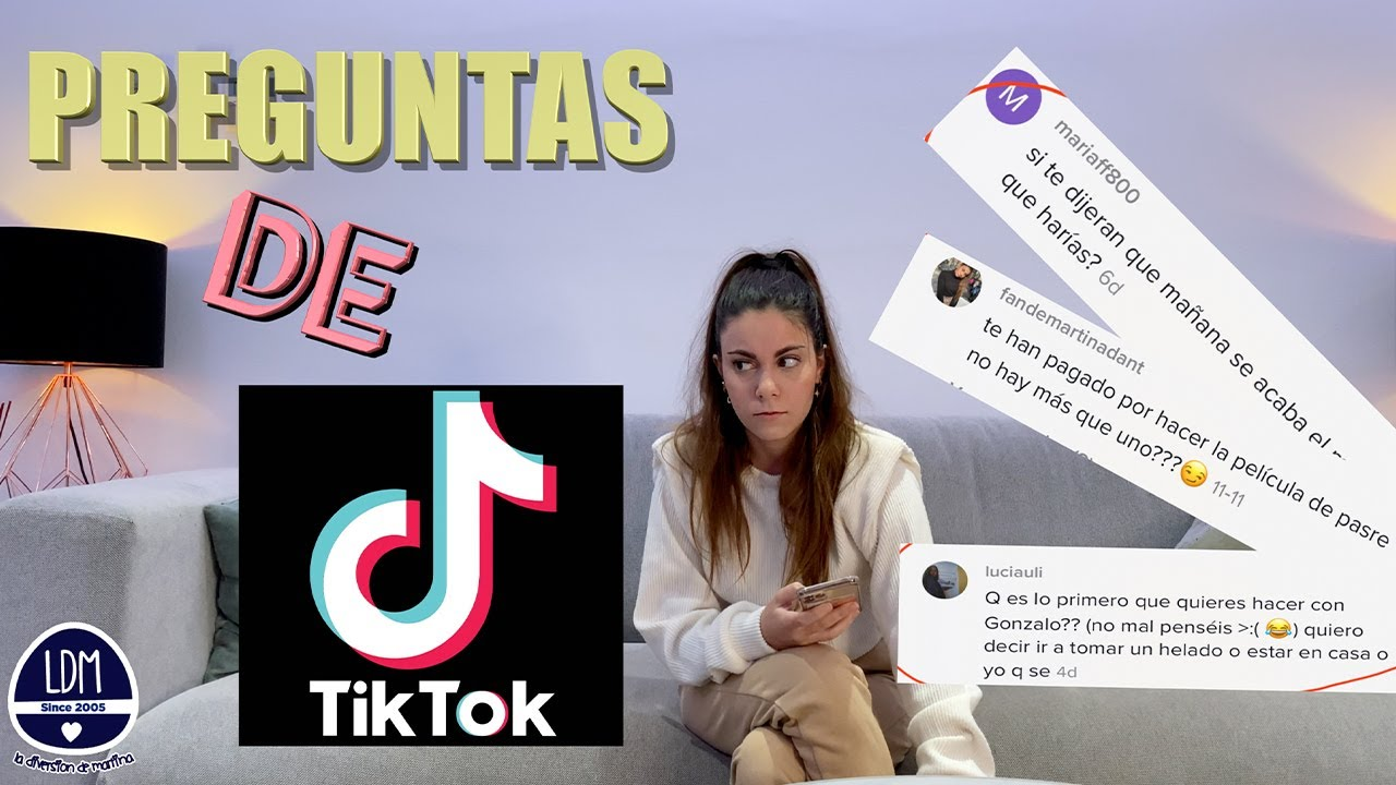 PREGUNTAS DE TIKTOK @martinadant