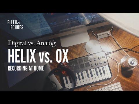 Audio] Helix Native vs  Analog : guitarpedals