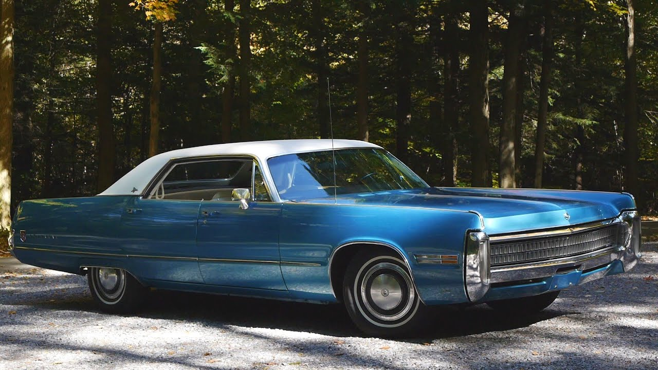 Gorgeous 1972 Chrysler Imperial Lebaron Youtube