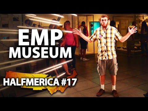 Star Wars Artifacts At The EMP Museum -- #Halfmerica