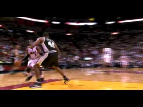 Dwyane Wade Steal And Chris Quinn 3 Vs Spurs